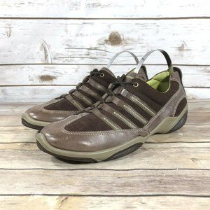 ECCO Shock Point Leather Comfort Size 8-9 (39)